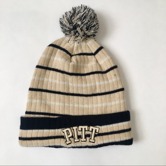 aa6c6db4999b1 Top of the World Accessories - PITT University of Pittsburgh Beanie 2-sided